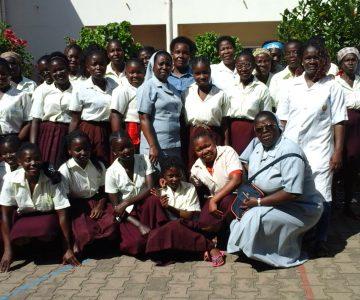 Groepsfoto aan het begin van het schooljaar 2018.