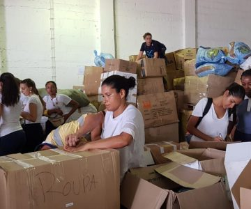 hulpactie in Maputo