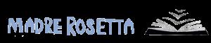 ONS LOGO -Vogels die naar een plek toevliegen en onderkomen zoeken bij een plek die educatie (boek) en veiligheid biedt. - Tegelijkertijd zie je vogels wegvliegen omdat Madre Rosetta kansarme meisjes vrijheid en een toekomst geeft. - De A's in de tekst zijn huisjes. Ze staan voor het onderkomen dat Madre Rosetta biedt.