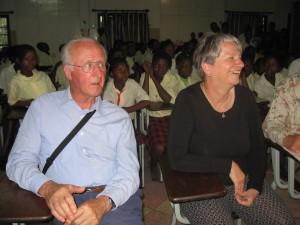 Initiatiefnemer van de Stichting Teun Bakels op bezoek in Mozambique waar hij met eigen ogen heeft gezien dat het ingezamelde geld meer dan goed wordt besteed.